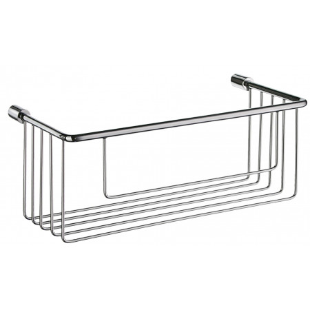 Smedbo Sideline Soap Basket Polished Chrome 267 x 117mm